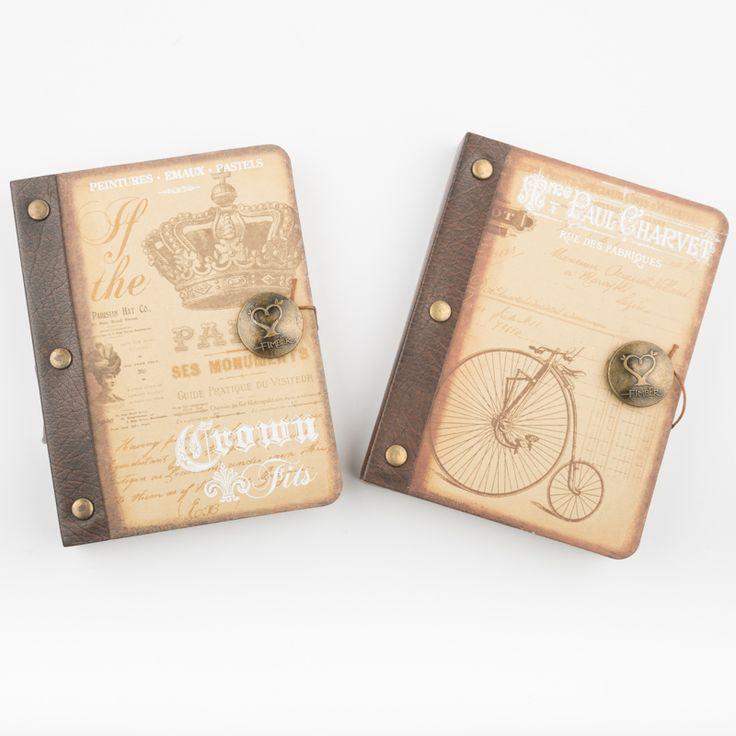 Σημειωματαριο vintage από την Tarantella