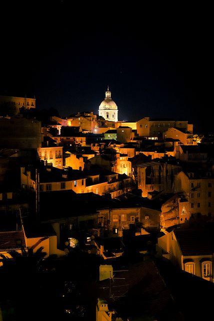 Lisbon Nights / Lisbon, Portugal by Zanthia, via Flickr  #travel