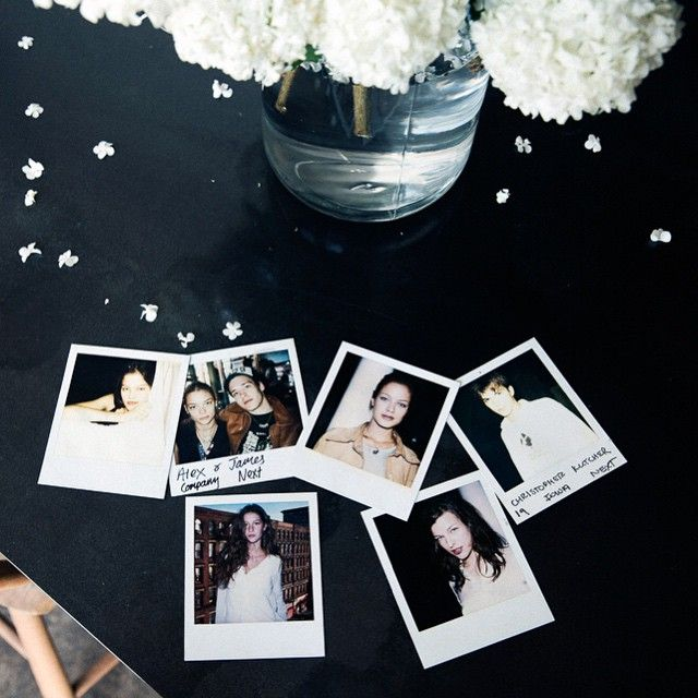 @giseleofficial @aplusk @carolynmurphy @jaime_king @millajovovich all in one place: @jenniferstarr1's casting polaroid collection