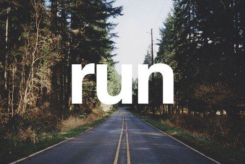 Por el solo hecho de correr…