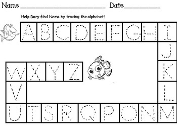 Printables Tracing Abc 1000 images about printables on pinterest maze gift tags and abc tracing mazes upper lower case