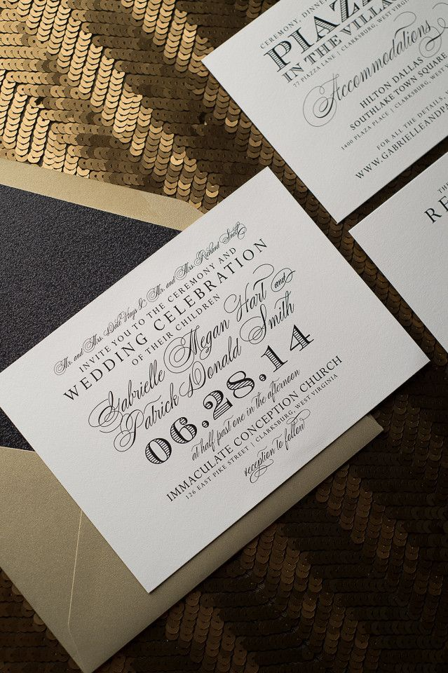 Best 20 Formal Calligraphy Letterpress Wedding Invitations Ideas On Pinterest