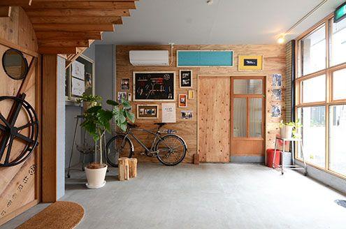 自転車乗りとカスタムハウス|ひつじ不動産
