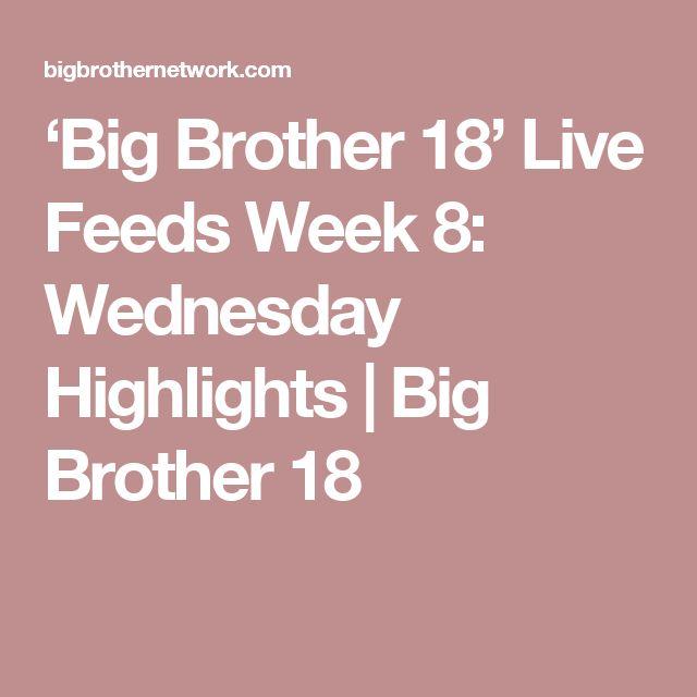 'Big Brother 18' Live Feeds Week 8: Wednesday Highlights | Big Brother 18