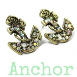 Anchor Studs Earring