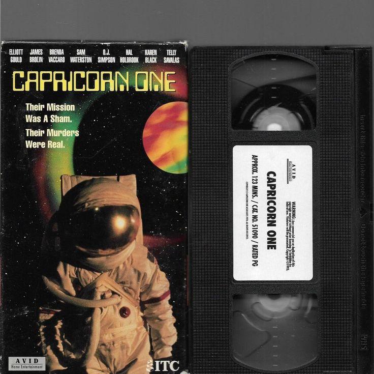 VHS: CAPRICORN ONE JAMES BROLIN O.J. SIMPSON ELLIOT GOULD