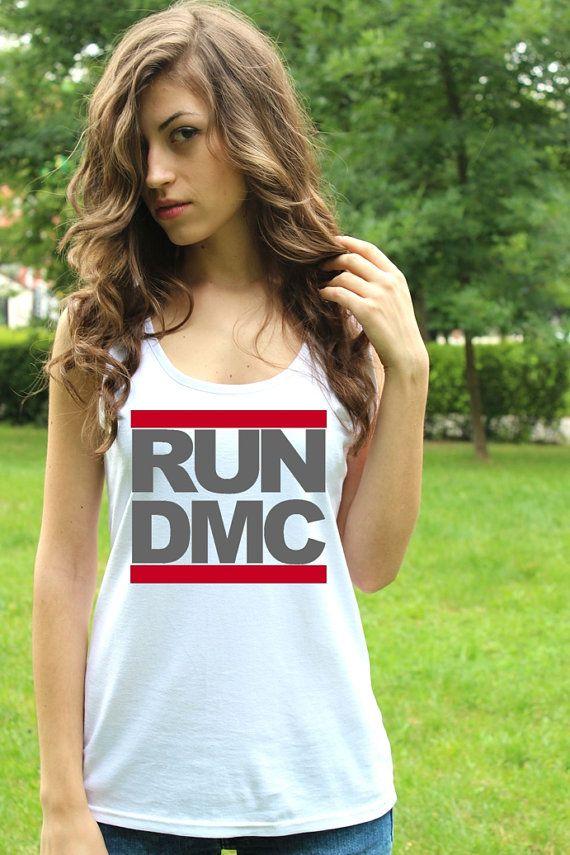 RUN DMC Shirts Run Dmc T shirt Run Dmc T shirt Top Run by RockSins