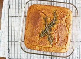 Gluten-Free Spiced Pumpkin Cornbread | Recipe