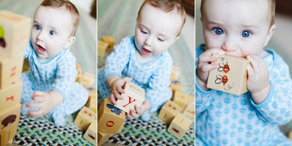 Inspire: 6 Month Old Session by Amber Snow Photography
