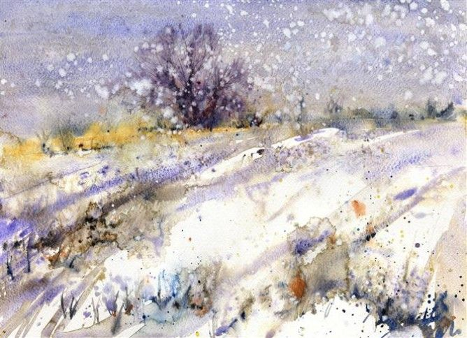 Lorna Holdcroft ~ Ashdown Forest In The Snow