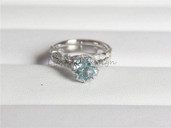 Best baby ring images promise rings aquamarine