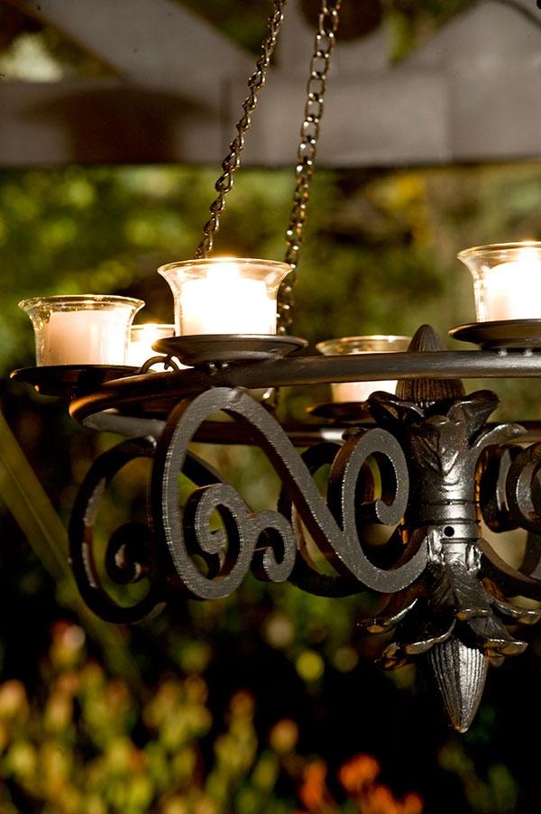 Romantic Outdoor Candle Chandelier Design Ideas For C L
