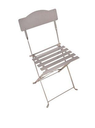 41% OFF Esschert Design USA Foldable Chair, Grey
