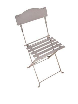 41% OFF Esschert Design USA Foldable Chair, Grey