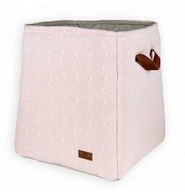 Baby's Only opbergmand Kabel Classic Roze 44 cm hoog