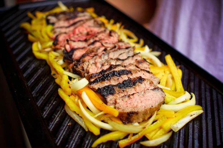 Grilled Skirrrrt Steak | recipe from Eat A Duck I Must