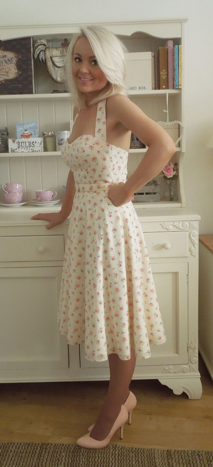 Liberty Print Pin UP Party Dress