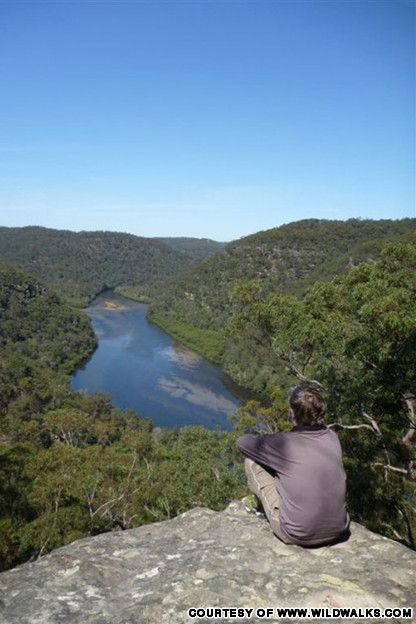 Berowra to Cowan via Berowra Waters ~ quite hard terrain and makes for a long day of walking but worth it for the picturesque lookouts