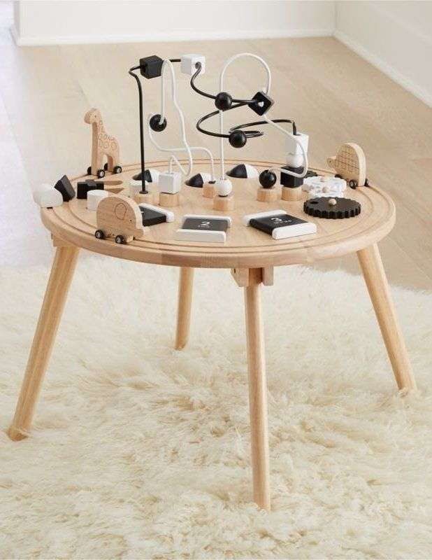 Wooden Activity Table Reviews Crate And Barrel Activity Table Kids Activity Table Crate And Barrel
