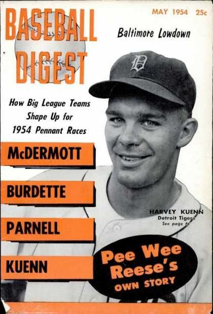 Baseball Digest - May 1954