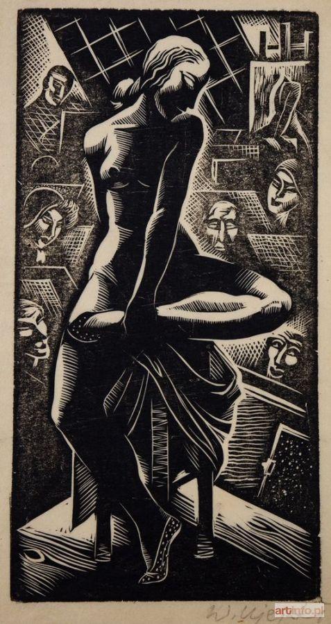Wacław UJEJSKI ● KOBIETA NA KRZEŚLE, 1925 - 1930 ●