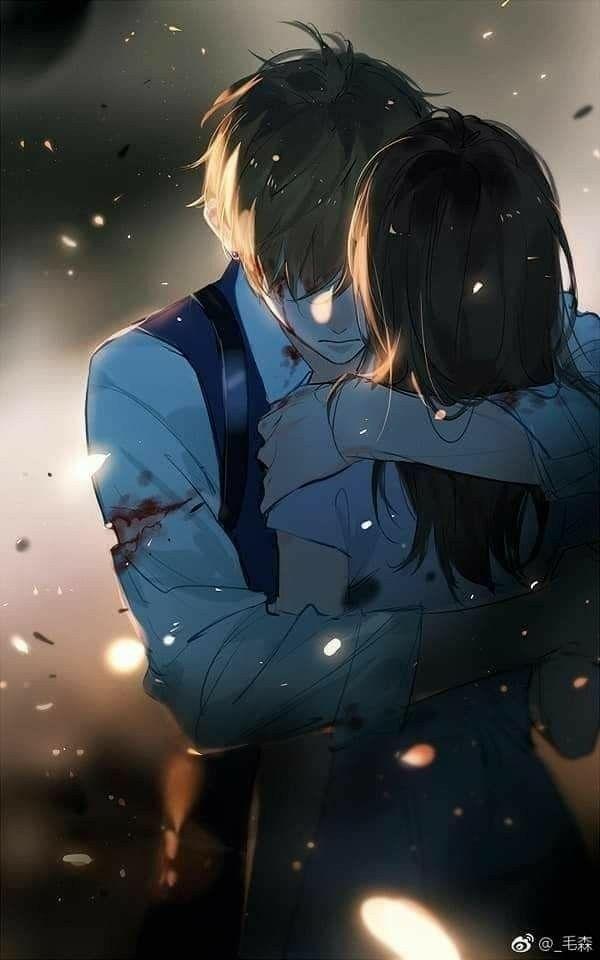 Anime World Anime Hug Romantic Anime Anime Cupples