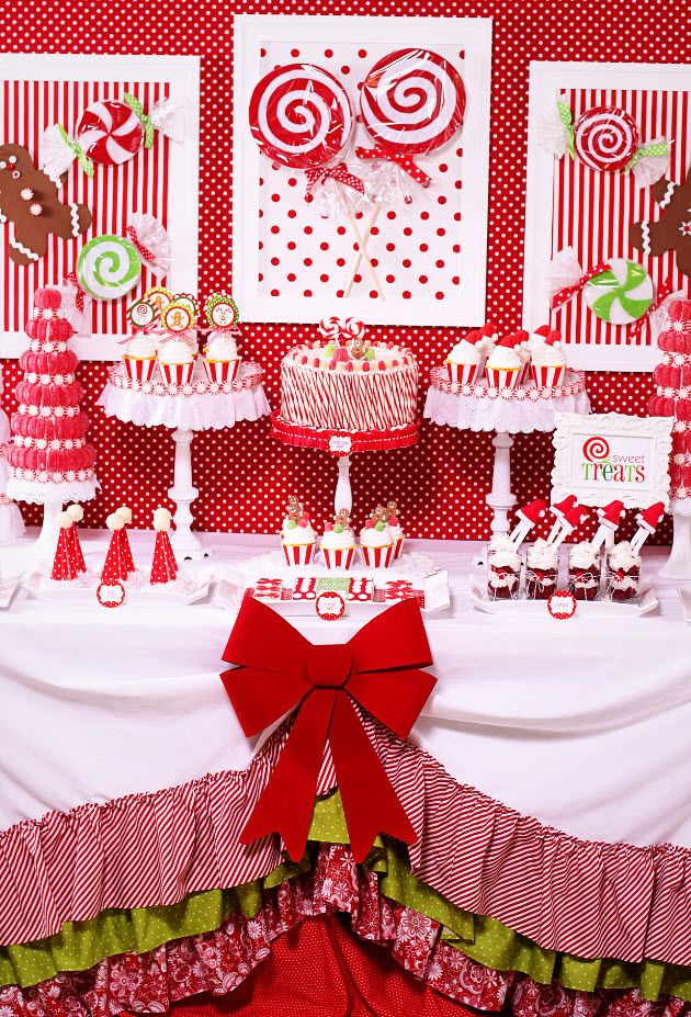 Hot Cocoa Bar & Candy Christmas Party