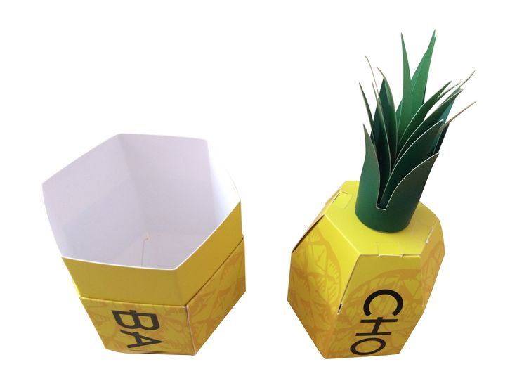 Product launch promotional gift box. Pineapple shaped flat pack box  sc 1 st  Pinterest & 129 best Promotional Packaging images on Pinterest | Packaging ... Aboutintivar.Com