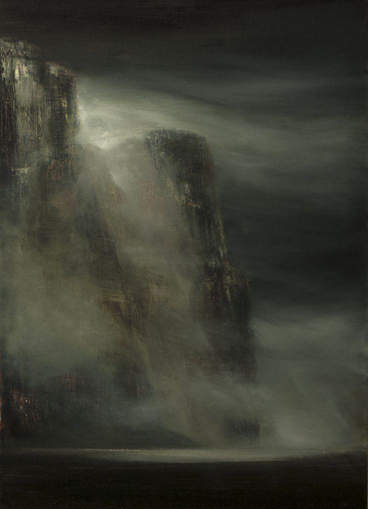The Calm. Oil on canvas, 50x70cm, 2015