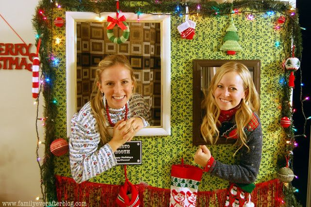 Family Ever After....: {Ugly Sweater Party Ideas} How to Build a Photo Booth - great idea!!