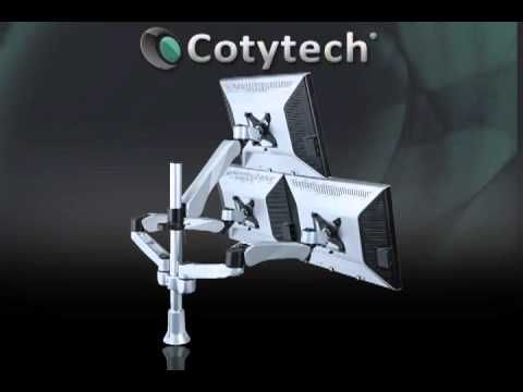 Cotytech is a leading company of many varieties of wall mount TV products such as keyboard trays, medical arms, video call carts, plasma mount, iPad, ergonomic products, security key locks and many more.