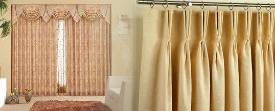 M s de 25 ideas incre bles sobre cortinas de tela en pinterest - Cortinas telas modelos ...