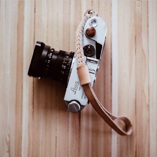 Beautiful M4 and @cubandco wrist strap #leicacraft #leicacamera #leica #cameraporn #rangefinder #photography #35mm