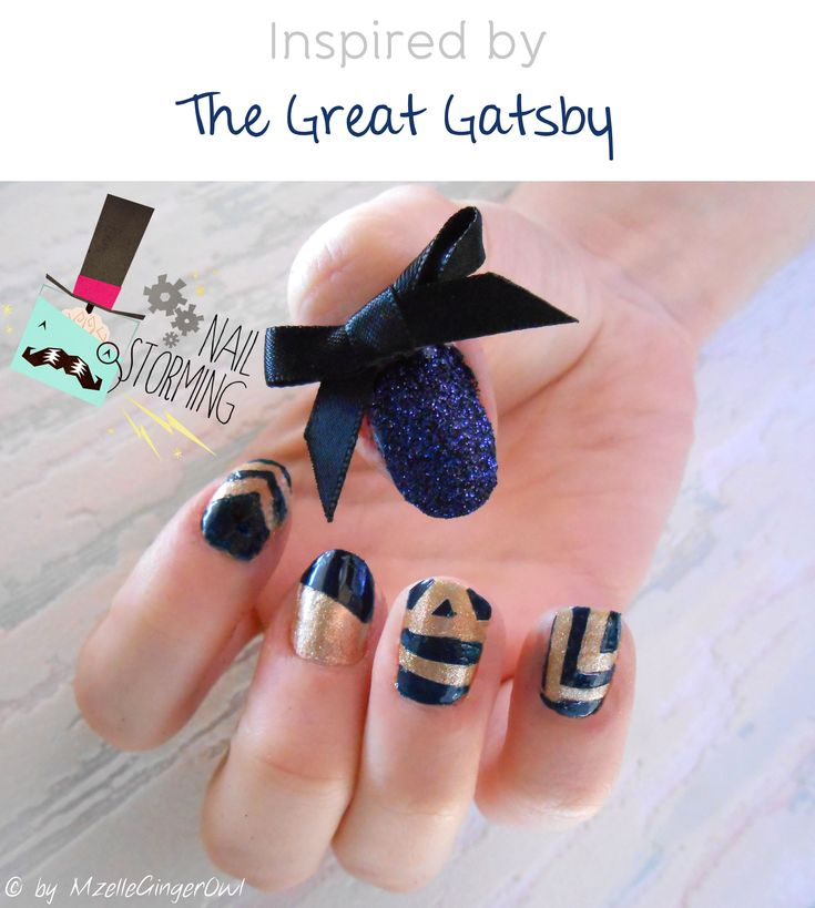 Nailstorming #Festival de Cannes, Stars et tapis rouge : manucure inspired by The Great Gatsby.