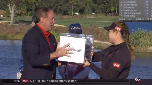 LPGA/Golf Channel | Ariya Jutanugarn wins CME Globe and $1-million dollars