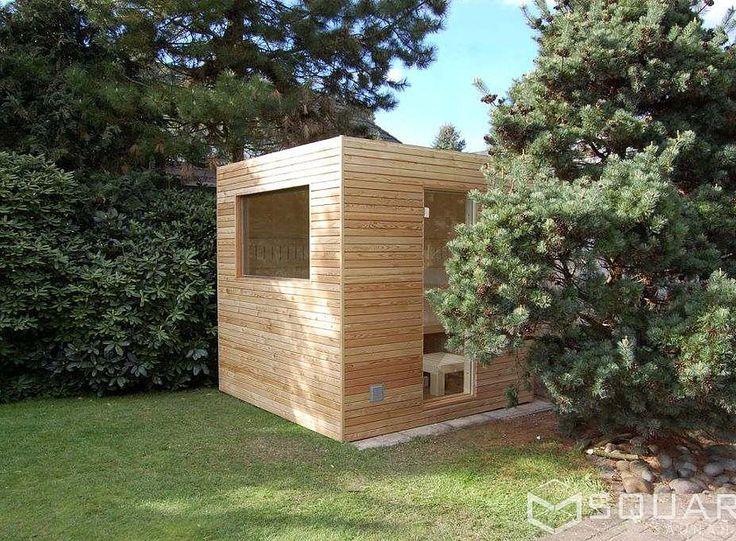 Luxury Die edle Sauna f r Ihren Garten oder Ihre Dachterrasse kompakt und dennoch mit h chstem Komfort