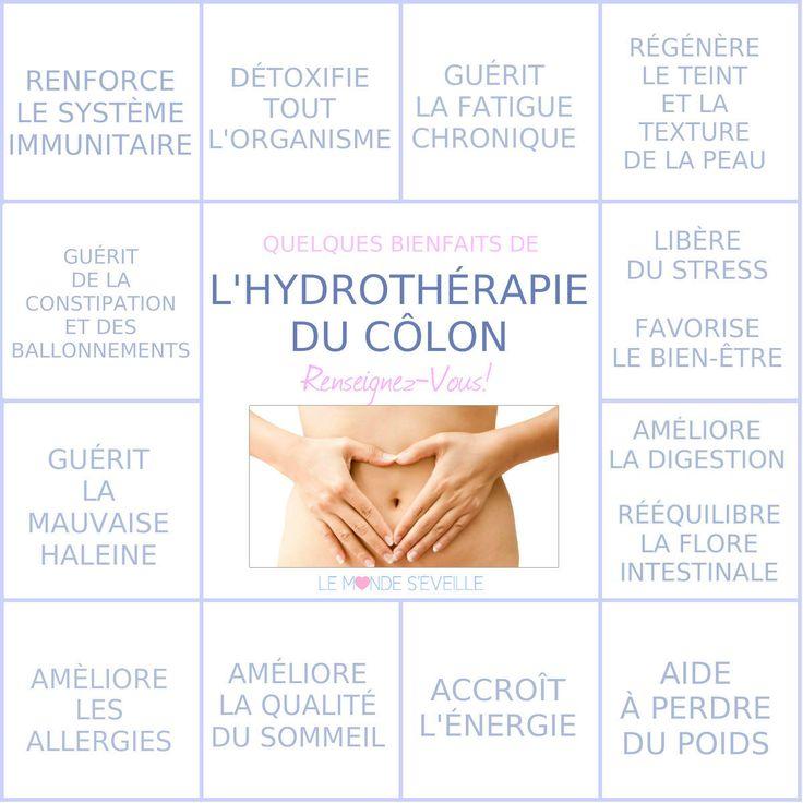 Les Bienfaits de l'Hydrothérapie du Côlon   HYDROTHÉRAPIE DU CÔLON Le Monde s'Eveille Grâce à Nous Tous ♥