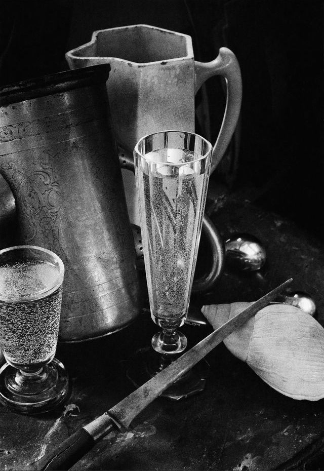"wonderfulambiguity: "" Boris Smelov, Still life with two glasses, 1970 """