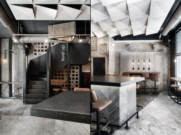 Cheval Bar and Restaurant by Ark4Lab of Architecture, Thessaloniki  Greece   Retail Design Blog | interior | Pinterest | Retail, Restaurants and Bar