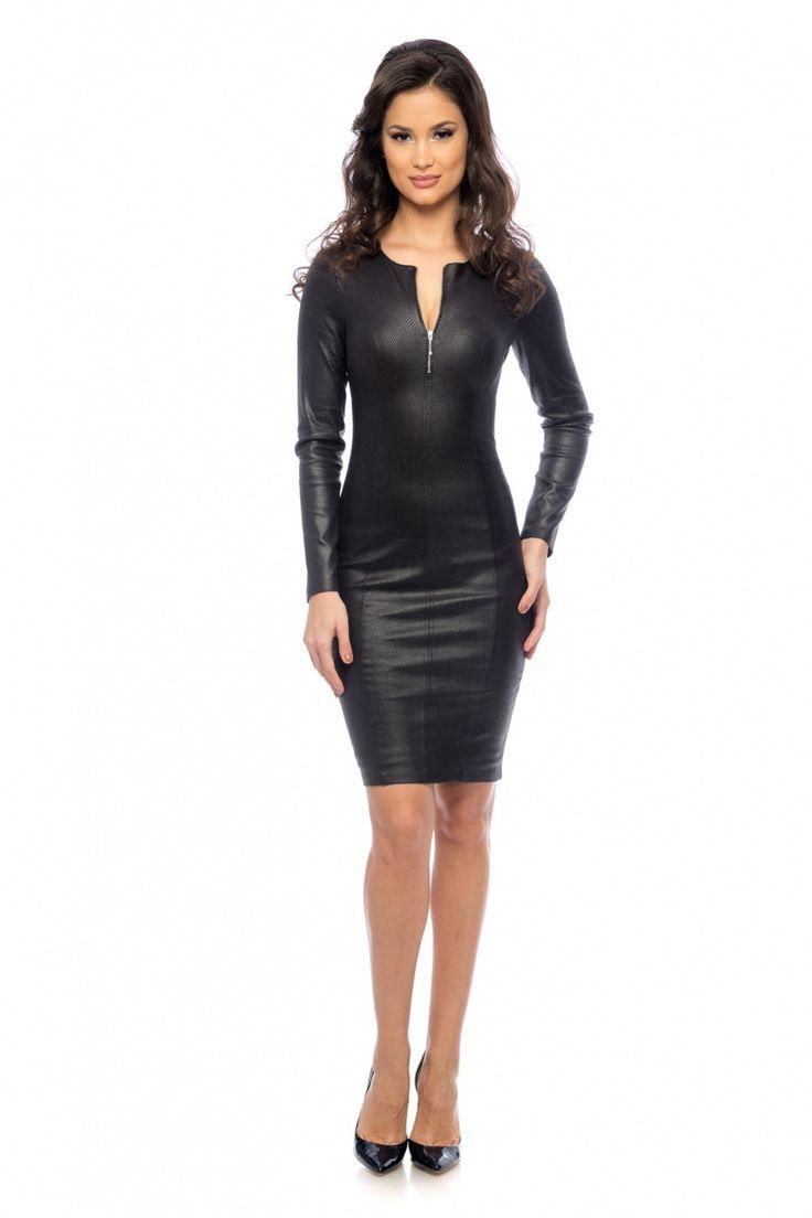 Rochie Lynette Neagra 249 lei Rochie casual-eleganta neagra