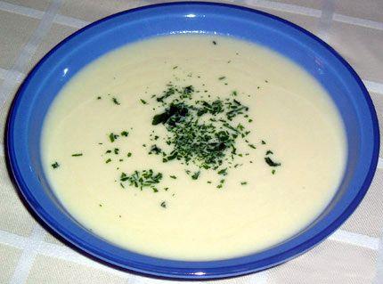 How to Make Vichyssoise (Potato Leek Soup) -- via wikiHow.com