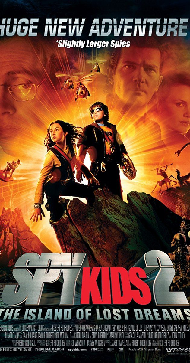Spy Kids 2: Island of Lost Dreams (2002) on IMDb: Movies, TV, Celebs, and more...