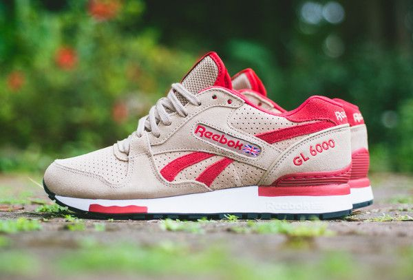 Reebok GL 6000 «Canvas/Excellent Red»