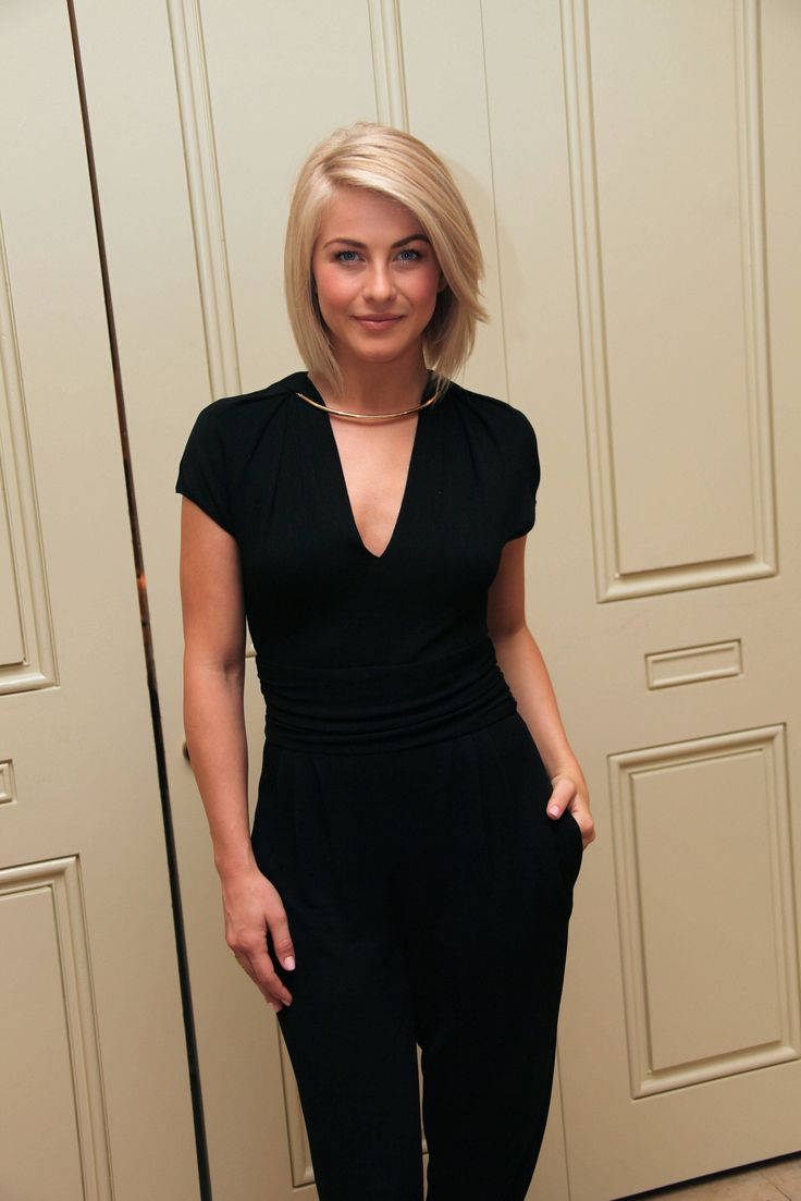 Julianne hough s short hair updo popsugar beauty - Julianne Hough Makes Me Want My Short Blonde Hair Again