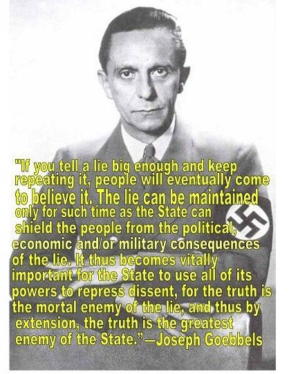 Great words and so true! Ba Humbug!  High-ranking Nazi Goebbels changed music tuning from 432 Hz, a natural frequency, to 440 Hz, a conflictual, dissociative, dissonant frequency!  DOES THIS UNNATURAL 440 Hz SOUND ADVERSELY AFFECT LIGHT, and PARTICULARLY LIGHT PERCEPTION?!?