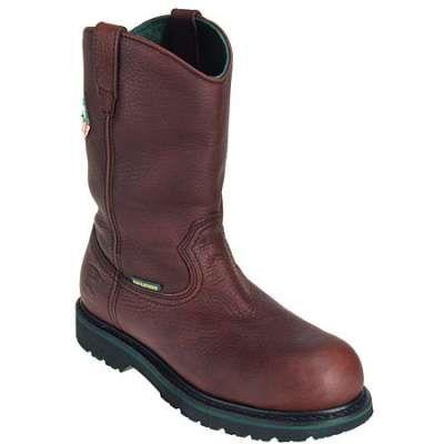 John deere boots mens steel toe waterproof wellington boots jd74383 in Men Steel Toe Boots