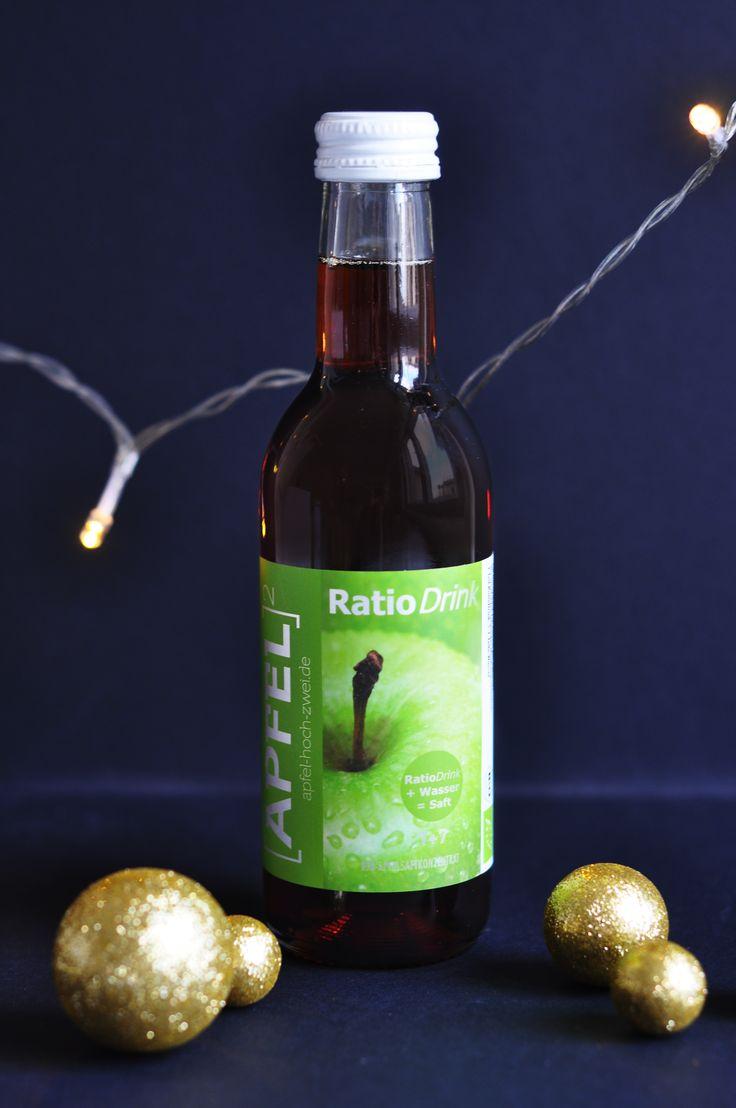 RatioDrink Apfelsaftkonzentrat – für klaren Apfelsaft und fruchtige Cocktails in Bioqualität!