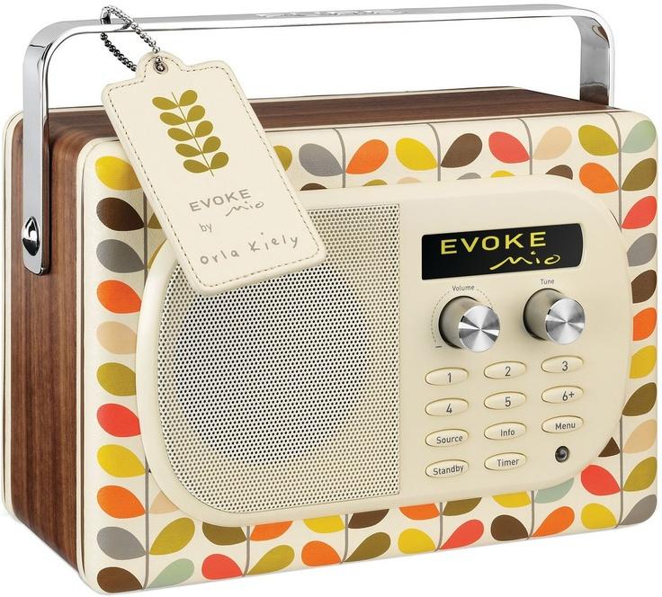 Radio portable Pure Evoke Mio-  Orla Kiely