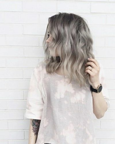 Image de hair, girl, and grunge Longueurs de cheveux