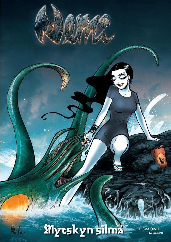 Ovatko Nemi-sarjakuvat sinulle jo tuttuja? Olisiko aika tutustua tähän hyvin itsetietoiseen naiseen?